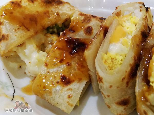 2個蛋早餐16-薯泥起司酥脆蛋餅-會牽絲