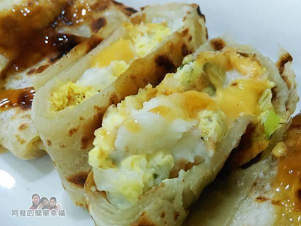 2個蛋早餐17-薯泥起司酥脆蛋餅-內鮮嫩綿密
