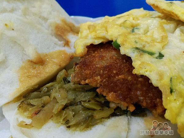 2個蛋早餐19-肉蛋饅頭-饅頭夾蛋升級版