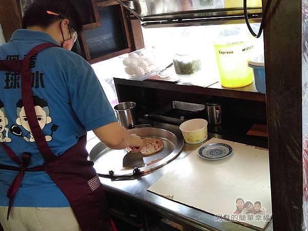 2個蛋早餐03-乾淨的煎檯