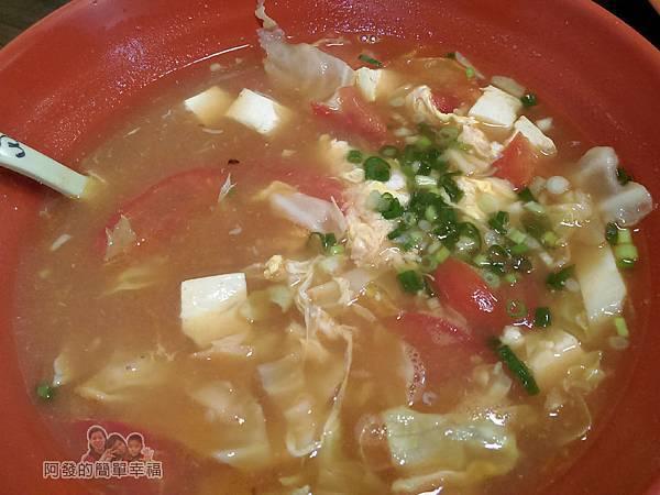 珍珍小館13-蕃茄肉片蛋花湯