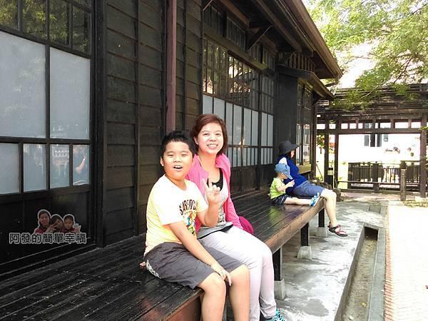 山腳國小16-享受舊日式建築的漫遊時光