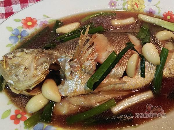 蒜燒黃魚10-放大