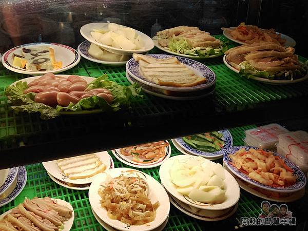 嘉味仙麻油雞腿庫飯05-小菜櫃