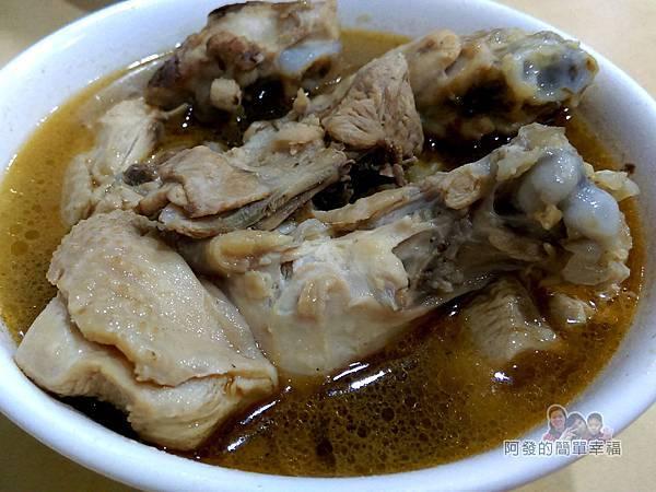 嘉味仙麻油雞腿庫飯11-麻油雞