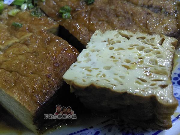 嘉味仙麻油雞腿庫飯15-滷油豆腐
