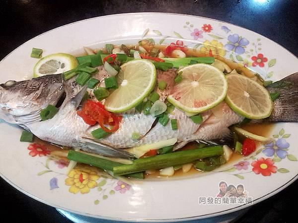 十道家常魚料理01-清蒸檸檬魚