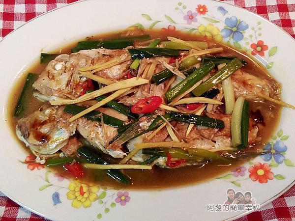 十道家常魚料理09-紅燒馬頭魚