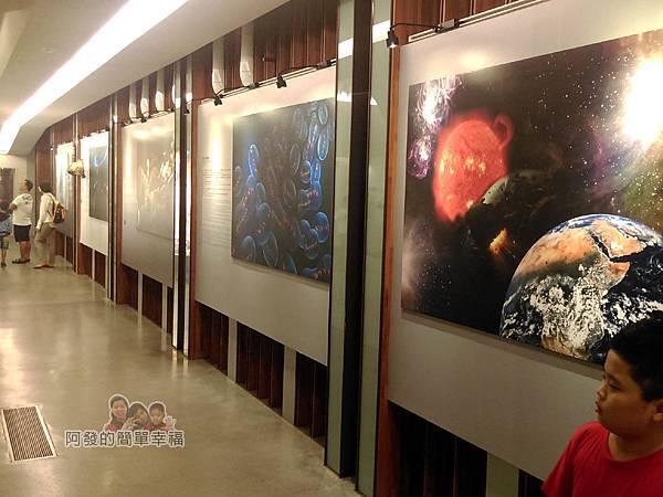 台灣博物館土銀館02-地球的形成