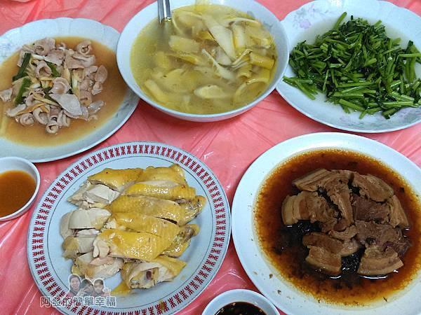 汶水老街-汶水茶壽12-永和亭飯店合菜