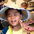 汶水老街-汶水茶壽27-折疊式草帽