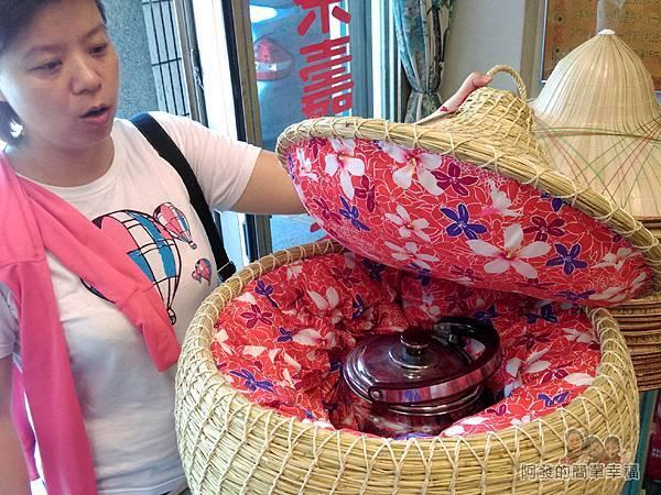汶水老街-汶水茶壽18-大型茶壽打開模樣