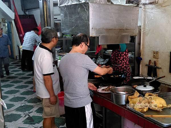 汶水老街-永和亭飯店04-門口料理區