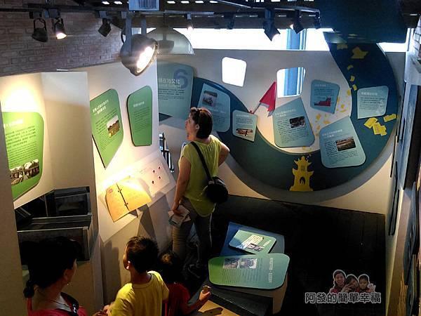 河川教育中心園區08-河川教育中心2F-在地文化介紹