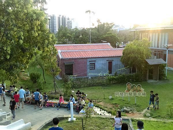 河川教育中心園區20-彩色大水管溜滑梯-鳥瞰園區