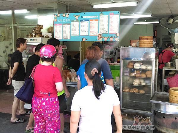 太和豆漿01-店門口的人潮