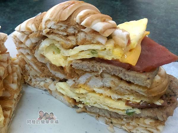太和豆漿09-海景饅頭蛋剖面