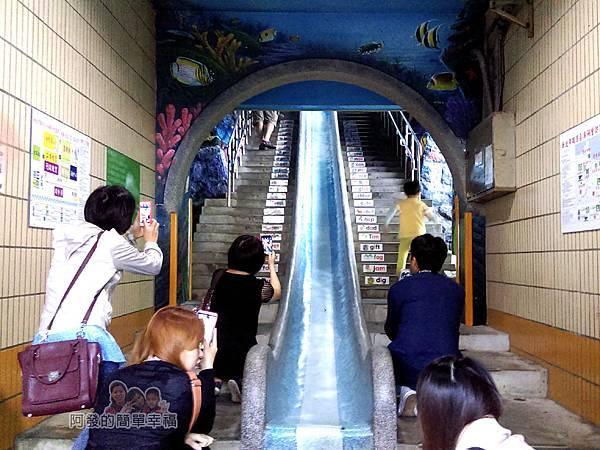濂洞國小15-室內兩層高3d海底世界溜滑梯