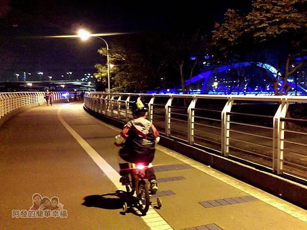 陽光橋-碧潭(夜騎)01-出發