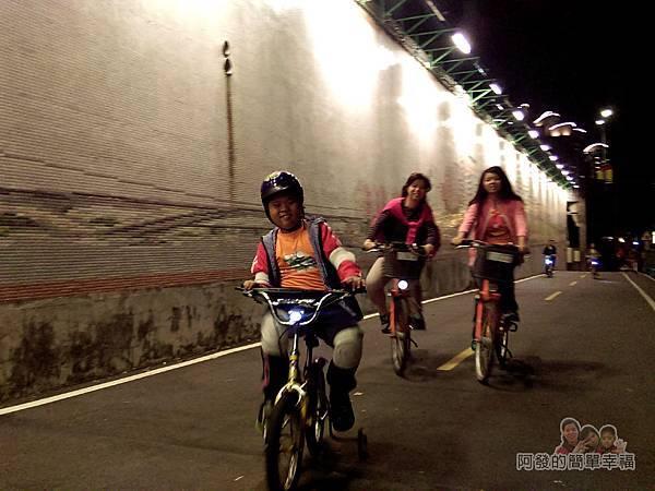 陽光橋-碧潭(夜騎)21-回程