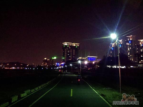 陽光橋-碧潭(夜騎)22-不同於白天的夜騎經驗