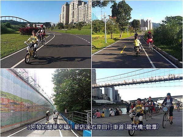 新北市03-新店溪右岸自行車道(陽光運動公園-碧潭段)