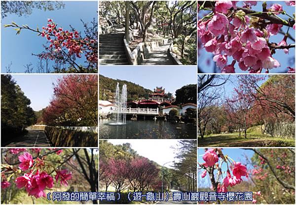 龜山-遊-01-壽山巖觀音寺櫻花園