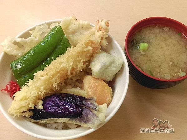 祥壽司17-炸蝦飯附味增湯