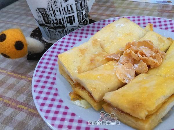 米豆早午餐10-法式吐司-特製焦糖牛奶