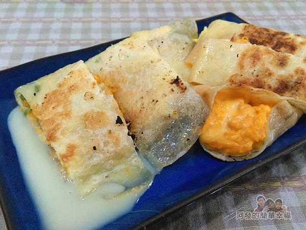米豆早午餐12-地瓜薯泥蛋餅加起司