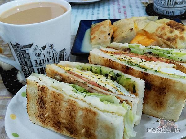 米豆早午餐18-招牌好事花生豬排總匯