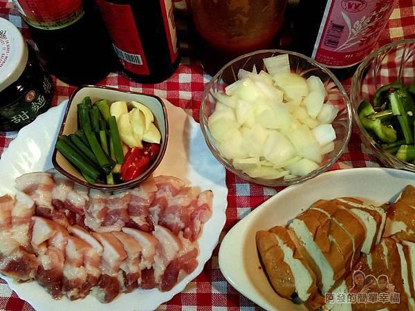 醬炒三層肉01-食材