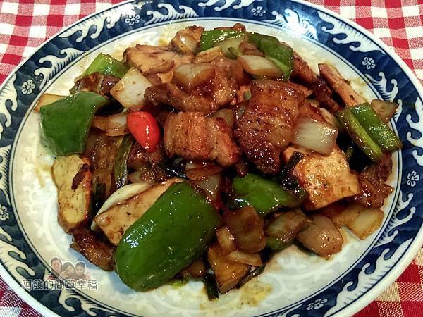 醬炒三層肉07-起鍋裝盤完成