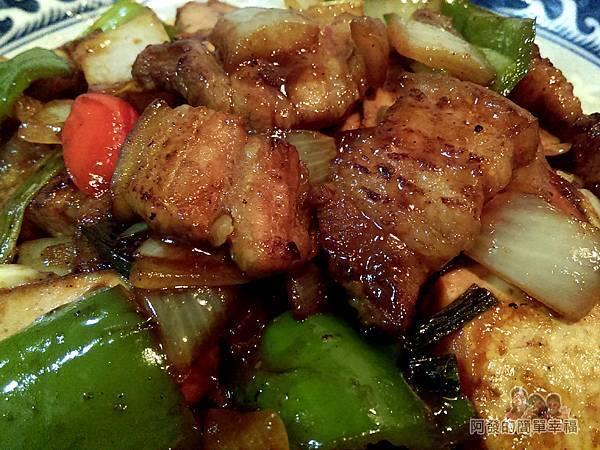 醬炒三層肉08-醬炒三層肉特寫