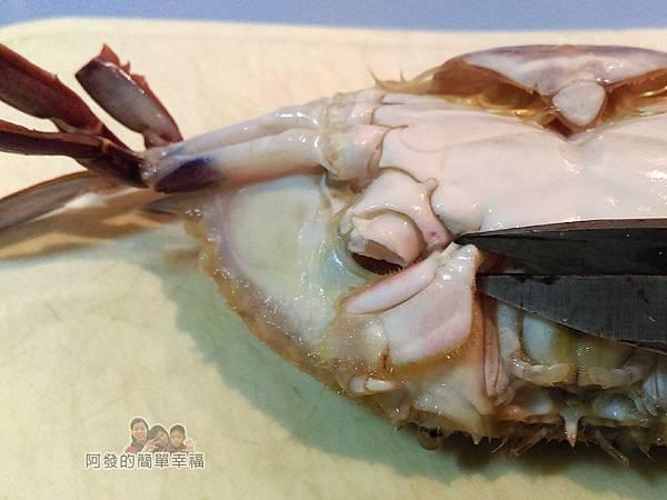 奶油螃蟹04-去除口器
