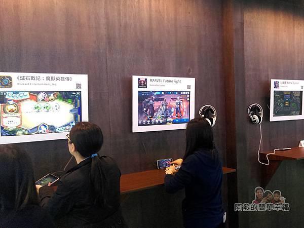 Google Play 遊樂園40-玩家殿堂區-較具技巧性的熱門手遊讓民眾體驗