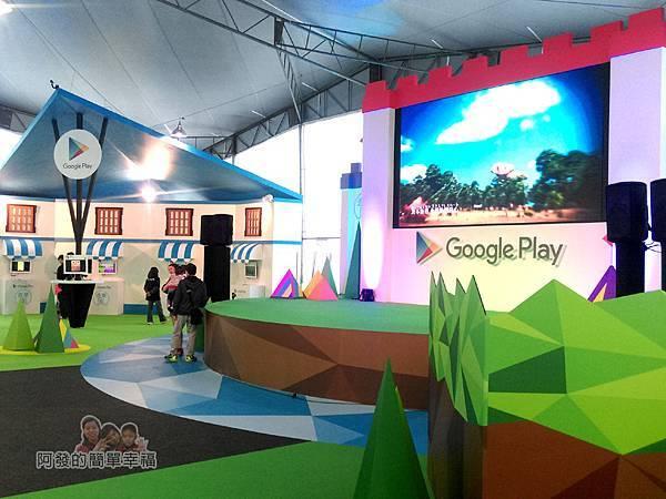 Google Play 遊樂園41-特色景觀之一-遊園舞台