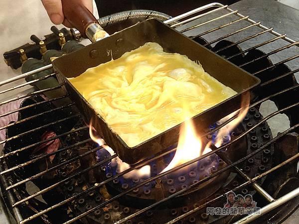 晶冠食堂15-玉子燒製作中