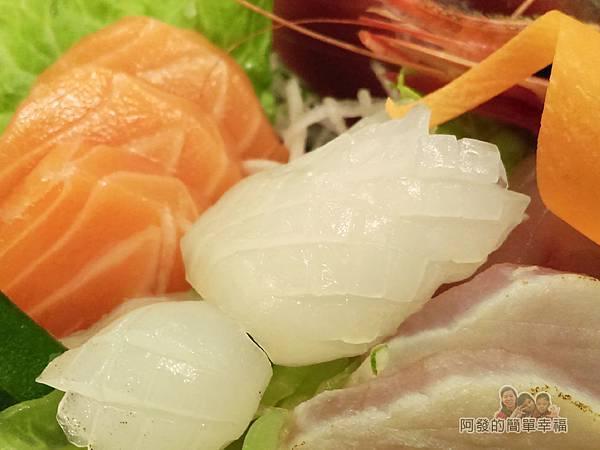美希屋32-生魚片定食-雕工刻花相當細膩