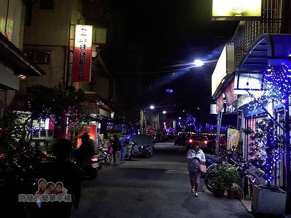 吉慶里聖誕巷02-石牌路一段71巷入口