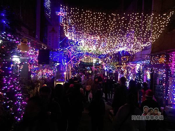 吉慶里聖誕巷04-71巷15弄口