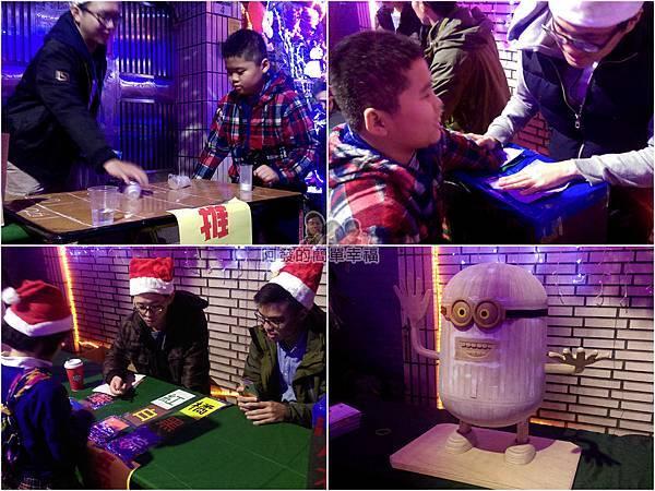 吉慶里聖誕巷05-當天有不少免費小活動小遊戲
