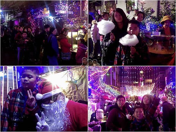 吉慶里聖誕巷06-免費提供棉花糖爆米花