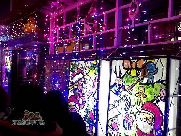 吉慶里聖誕巷12-應景的燈箱