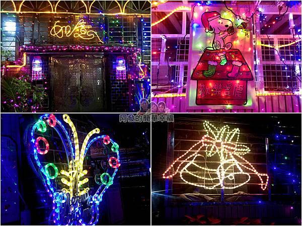 吉慶里聖誕巷15-應景的燈飾