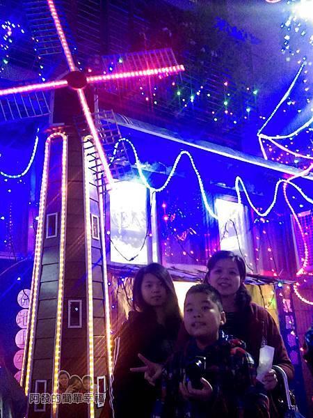 吉慶里聖誕巷17-風車燈飾