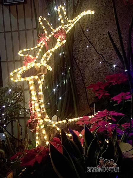 吉慶里聖誕巷20-麋鹿燈飾