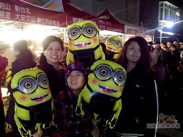 福興里聖誕公園12-免費發放的造型氣球