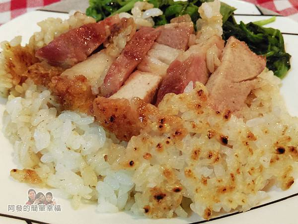 臘味煲仔飯(平底鍋)11-快速又美味的平底鍋版臘味煲仔飯