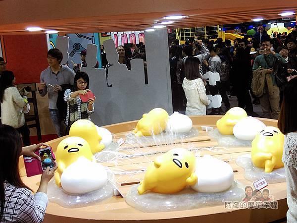 蛋黃哥懶得展25-蛋黃哥遊台灣-蛋黃街-黃鼎(湯包)